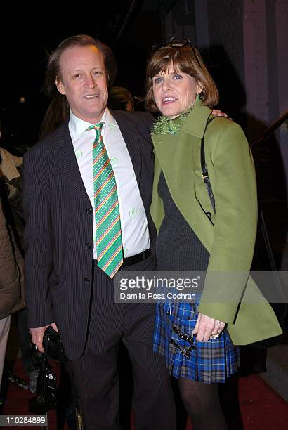 Patrick McMullan and Mary Browne during The 2006 Patrick McMullan St Patrick's Day Party at Pacha in New York City New York United States