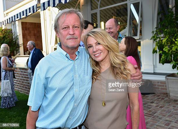 Patrick Mcmullan and Ramona Singer attends as the Alzheimer's Association Hosts Rita Hayworth Gala Hamptons Kickoff Event at Ashgrove Farm on July 29...