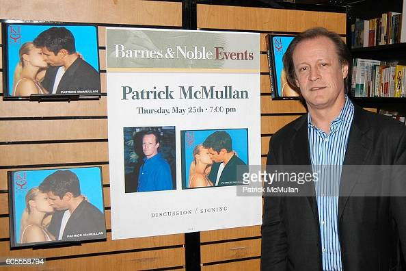 Patrick McMullan attends Patrick McMullan Book Signing at Barnes and Noble Astor Place on May 25 2006 in New York City