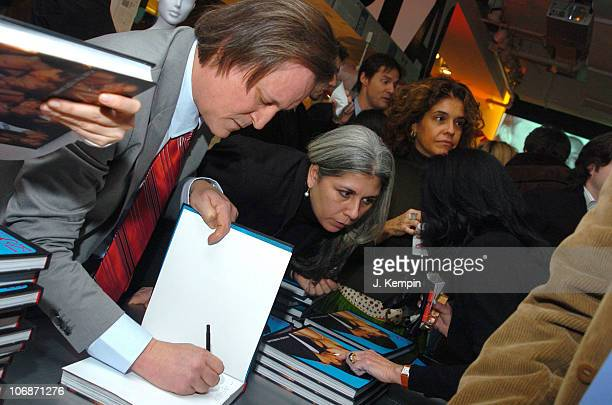 Patrick McMullan during 'Kiss Kiss' Book Launch with Donna Karan at DKNY Madison Avenue Store in New York City New York United States