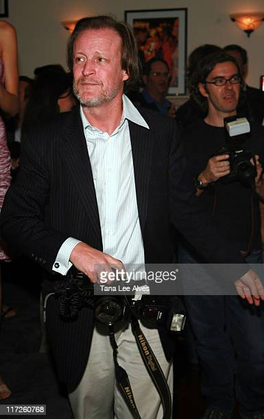 Patrick McMullan during Sun's Single Release Party at Cain House in Water Mill New York United States