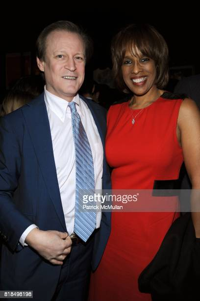Patrick McMullan Gayle King attend INTERVIEW celebrates Patrick McMullan's 20th Anniversary at Elaine's on February 10 2009 in New York City