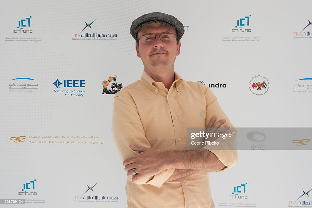 Patrick Meier during The UAE AI & Robotics Award for Good at Dubai Internet City on February 6, 2016 in Dubai, United Arab Emirates where the winners of the USD 1 million international competition and the AED 1 million national competition will be announced.