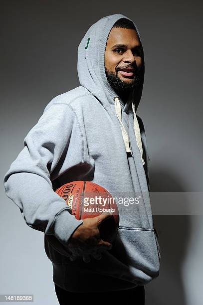 Patrick Mills of the Boomers poses during an Australian Basketball portrait session on July 12 2012 on the Gold Coast Australia