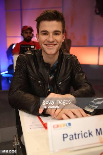 Patrick Moelleken attends the 22nd RTL Telethon on November 24 2017 in Huerth Germany