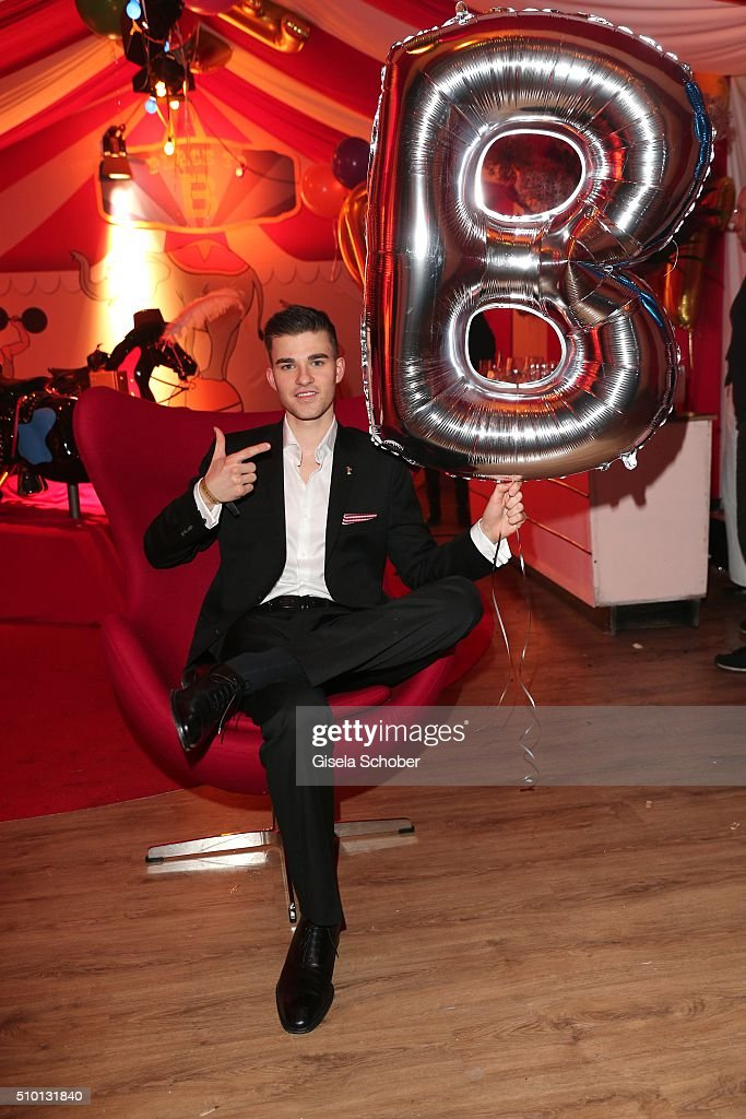 Patrick Moelleken during the Bild 'Place to B' Party at Borchardt during the 66th Berlinale International Film Festival Berlin on February 13, 2016 in Berlin, Germany.