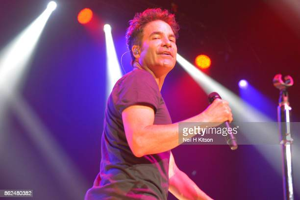 Patrick Monahan of Train performs at City Hall on October 16 2017 in Sheffield England