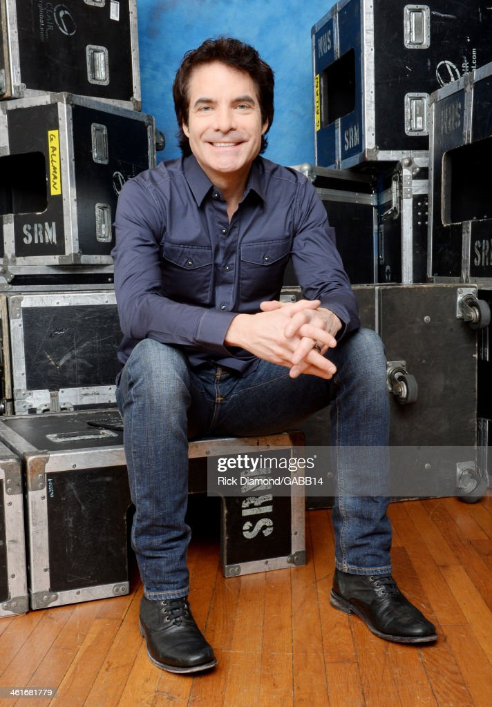 Patrick Monahan poses for a portrait at All My Friends: Celebrating the Songs & Voice of Gregg Allman at The Fox Theatre on January 10, 2014 in Atlanta, Georgia.