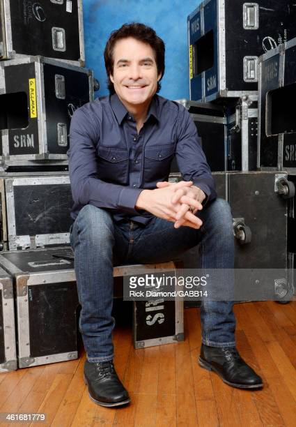 Patrick Monahan poses for a portrait at All My Friends Celebrating the Songs Voice of Gregg Allman at The Fox Theatre on January 10 2014 in Atlanta...