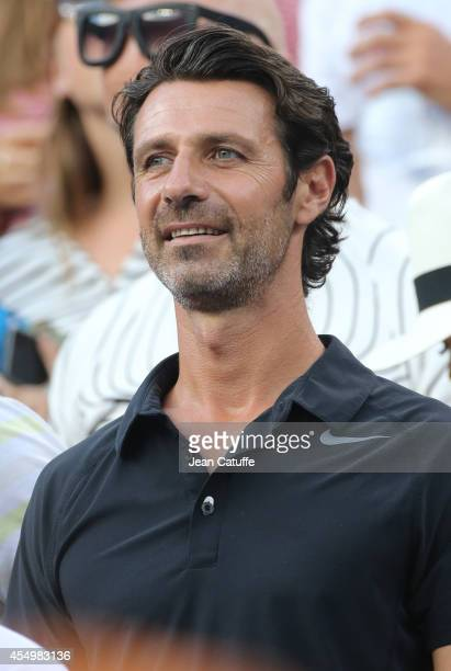 Patrick Mouratoglou coach of Serena Williams attends the women's final on Day 14 of the 2014 US Open at USTA Billie Jean King National Tennis Center...
