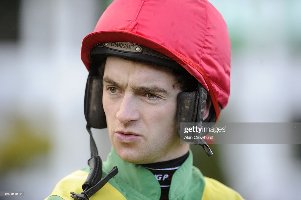 Patrick Mullins poses at Leopardstown racecourse on January 27, 2013 in Dublin, Ireland.