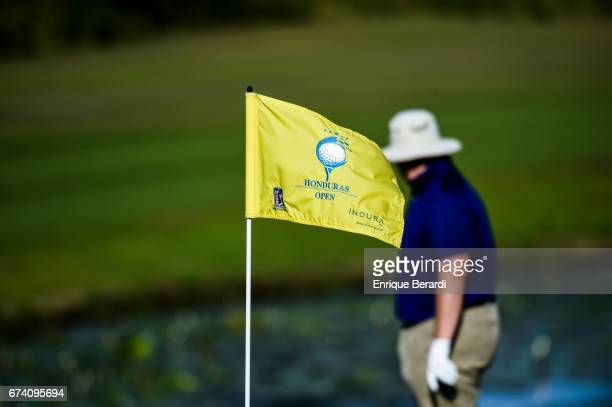Patrick Newcomb of the United States during the final round of the PGA TOUR Latinoamérica Honduras Open presented by Indura Golf Resort at Indura...