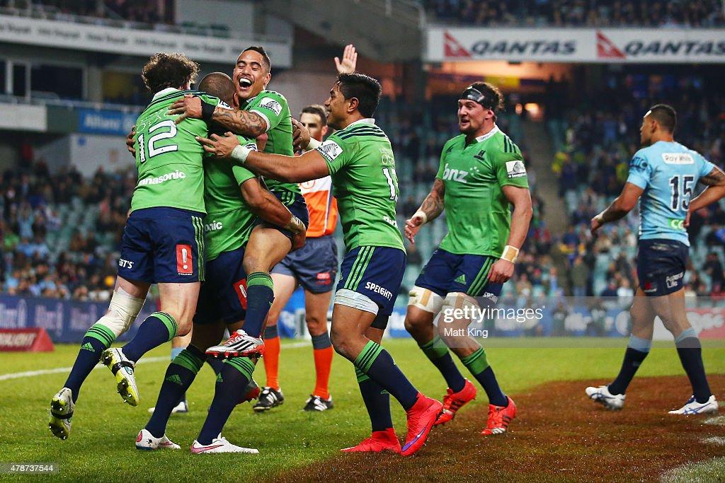 Super Rugby Semi Final - Waratahs v Highlanders
