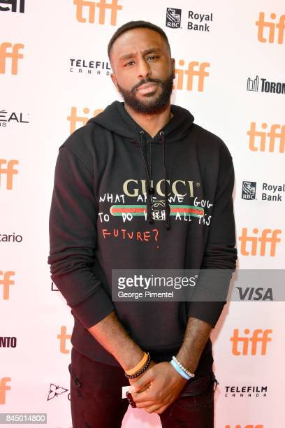 Patrick Patterson attends 'The Carter Effect' premiere during the 2017 Toronto International Film Festival at Princess of Wales Theatre on September...