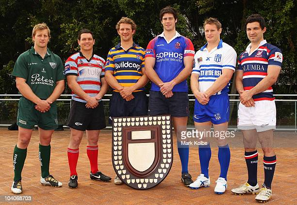 Patrick Phibbs of Randwick Josh Gamgee of Southern Districts Tim Davidson of Sydney University Greg Peterson of Manly Hugh Perrett of Eastwood and...