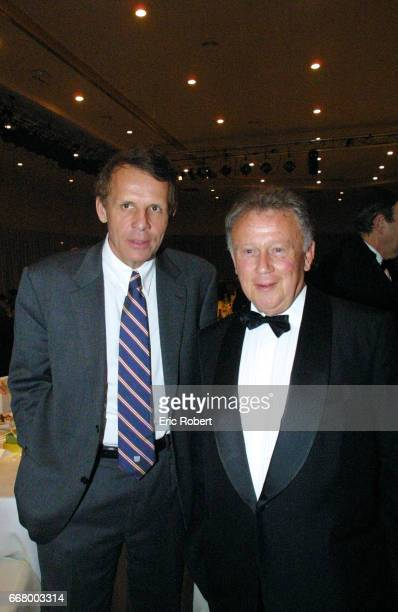 Patrick Poivre d'Arvor and Philippe Bouvard