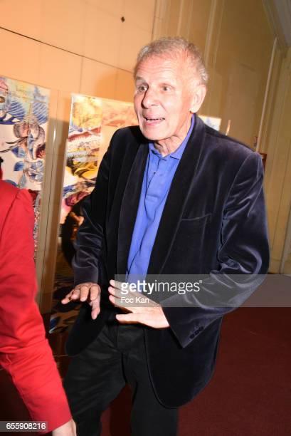Patrick Poivre d'Arvor attends 'Gala D'Enfance Majuscule 2017' Charity Gala At Salle Gaveau on March 20 2017 in Paris France