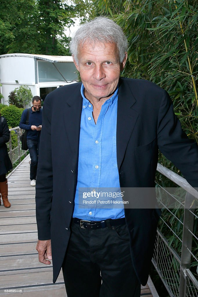 Patrick Poivre d'Arvor attends the 2016 French Tennis Open - Day Six at Roland Garros on May 27, 2016 in Paris, France.