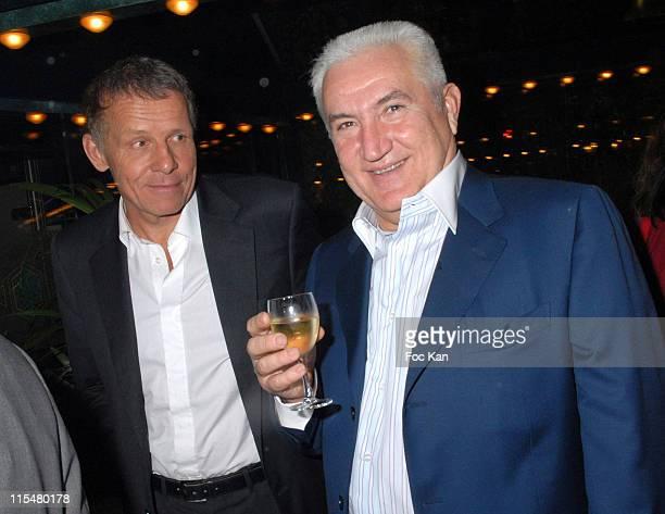 Patrick Poivre d'Arvor Miroslav Siljegovic and guest