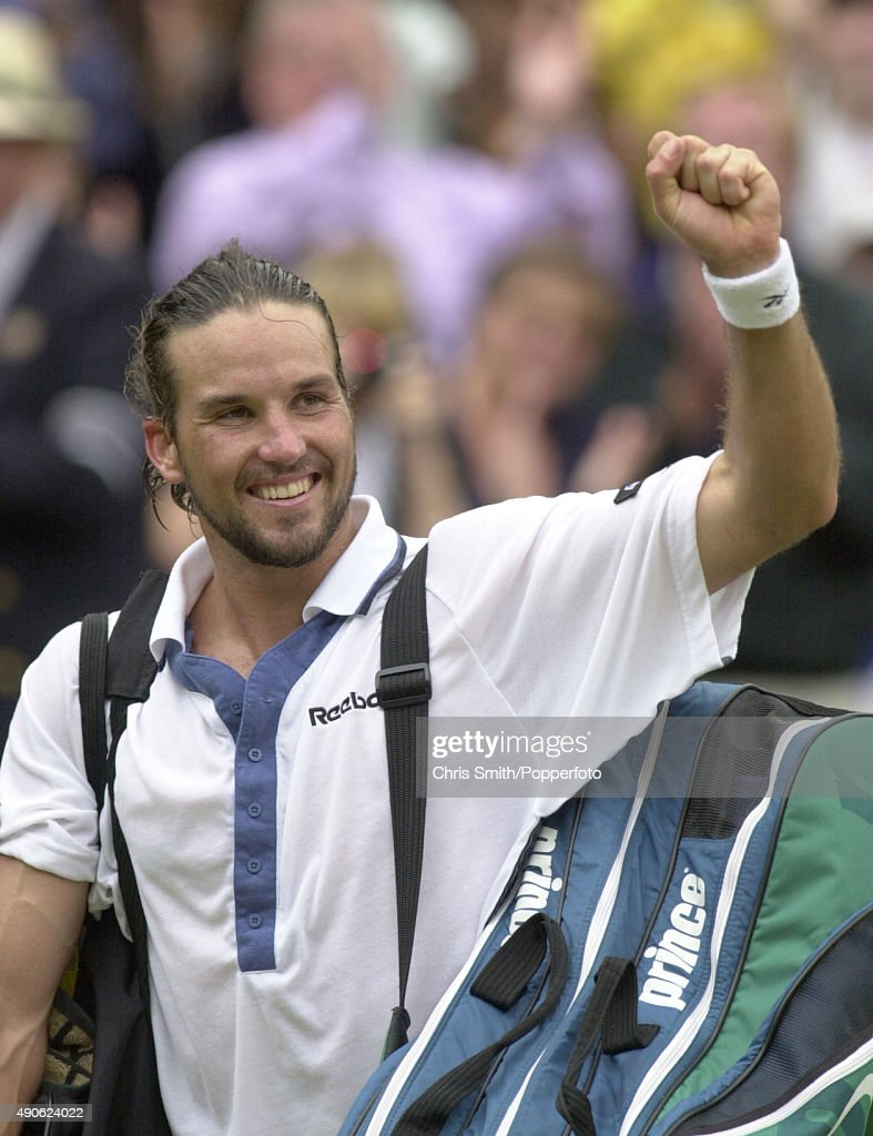 Pat Rafter At Wimbledon