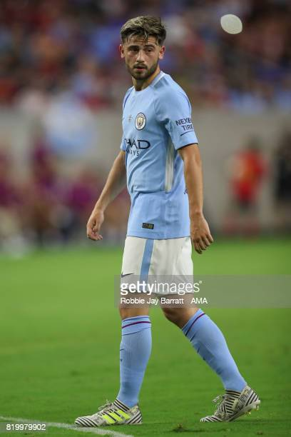 Patrick Roberts of Manchester City during the International Champions Cup 2017 match between Manchester United and Manchester City at NRG Stadium on...