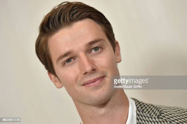 Patrick Schwarzenegger arrives at Hammer Museum Gala in the Garden on October 14 2017 in Westwood California