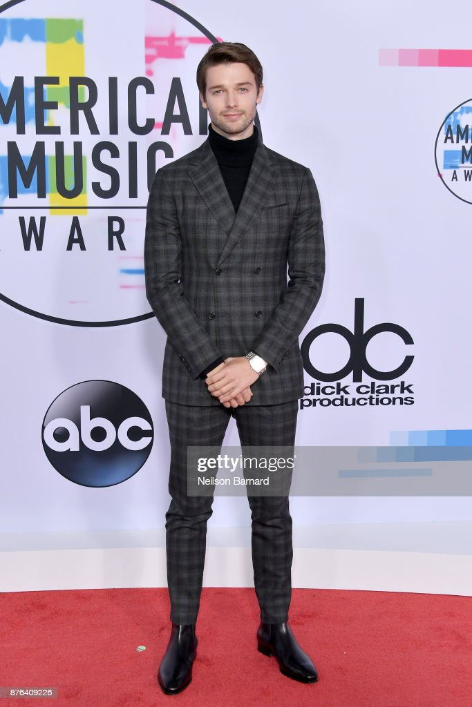 Patrick Schwarzenegger attends the 2017 American Music Awards at Microsoft Theater on November 19, 2017 in Los Angeles, California.