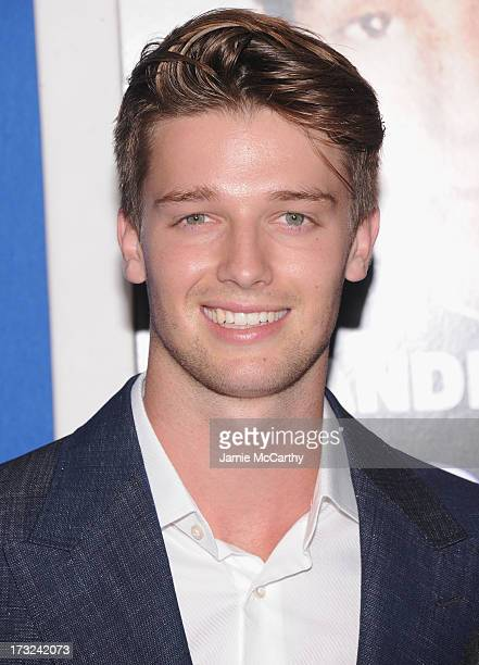 Patrick Schwarzenegger attends the 'Grown Ups 2' New York Premiere at AMC Lincoln Square Theater on July 10 2013 in New York City