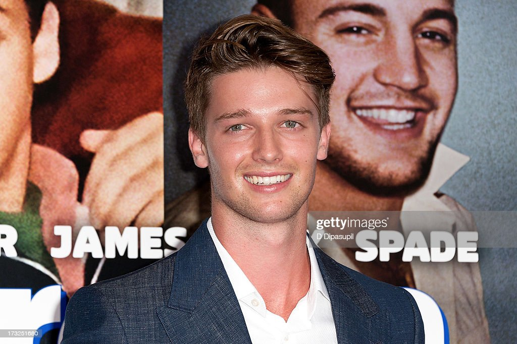 Patrick Schwarzenegger attends the 'Grown Ups 2' New York Premiere at AMC Lincoln Square Theater on July 10, 2013 in New York City.