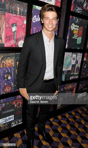 Patrick Schwarzenegger attends the UK Film Premiere of 'The Expendables 2' at Empire Leicester Square on August 13 2012 in London United Kingdom