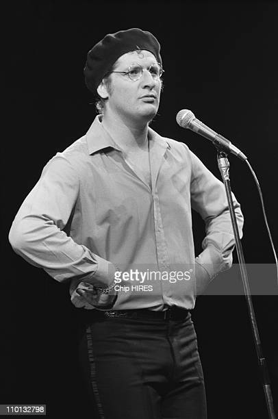 Patrick Sebastian at the Olympia at the Olympia in Paris France on December 17 1980
