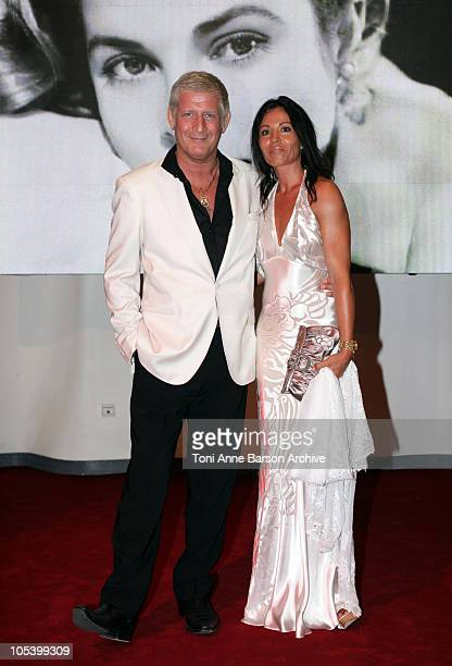 Patrick Sebastien and Wife arrive for the Red Cross Ball on July 27 2007 in Monte Carlo Monaco