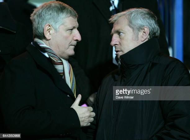 Patrick SEBASTIEN et Luis FERNANDEZ Stade Francais / Brive 9eme journee du Top14 Photo Dave Winter / Icon Sport