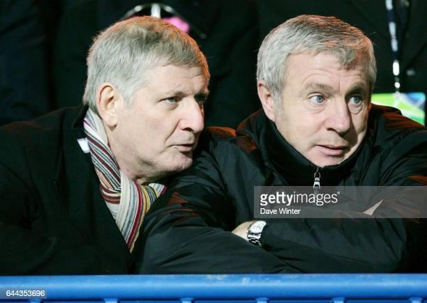Patrick SEBASTIEN et Luis FERNANDEZ Stade Francais / Brive 9eme journee de Top14 Photo Dave Winter / Icon Sport