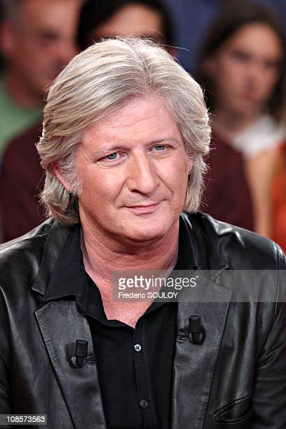Patrick Sebastien in Paris France on June 08th 2005