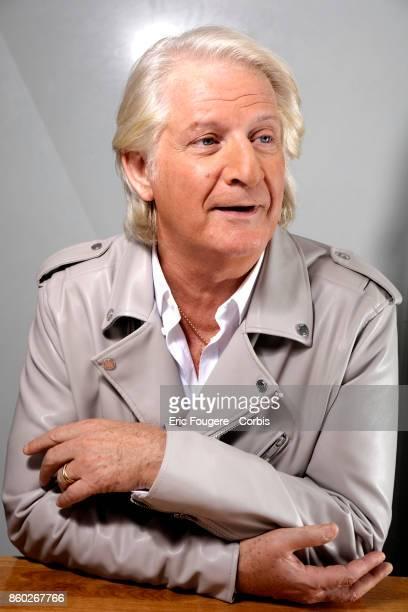 Patrick Sebastien poses during a portrait session in Paris France on