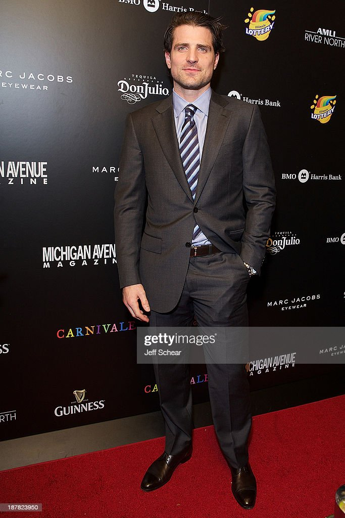 <a gi-track='captionPersonalityLinkClicked' href=/galleries/search?phrase=Patrick+Sharp&family=editorial&specificpeople=206279 ng-click='$event.stopPropagation()'>Patrick Sharp</a> attends Michigan Avenue Magazine November Cover Celebration Hosted By Chicago Blackhawks' <a gi-track='captionPersonalityLinkClicked' href=/galleries/search?phrase=Patrick+Sharp&family=editorial&specificpeople=206279 ng-click='$event.stopPropagation()'>Patrick Sharp</a> & Patrick Kane at Carnivale on November 12, 2013 in Chicago, Illinois.