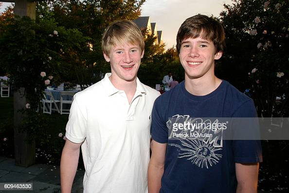 Patrick Sheridan and Collin Sheridan attend SOUTHAMPTON FRESH AIR HOME's 20th Annual American Picnic With GRUCCi Fireworks at Southampton on June 29...