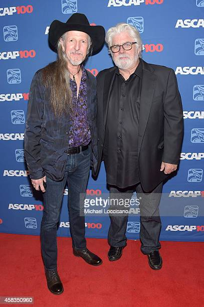 Patrick Simmons and Michael McDonald attend the 52nd annual ASCAP Country Music awards at Music City Center on November 3 2014 in Nashville Tennessee