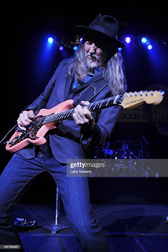Patrick Simmons of The Doobie Brothers performs at Hard Rock Live! in the Seminole Hard Rock Hotel & Casino on February 26, 2013 in Hollywood, Florida.