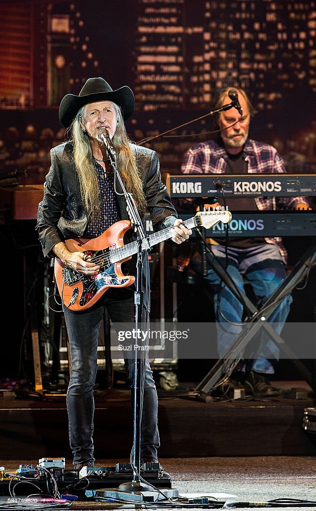 Patrick Simmons of The Doobie Brothers performs at White River Amphitheatre on August 23 2016 in Auburn Washington