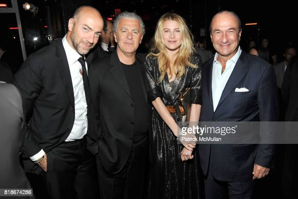 Patrick Simon Luciano Bertinelli Dree Hemingway and Michele Norsa attend SALVATORE FERRAGAMO ATTIMO Launch Event at The Standard Hotel on June 30...