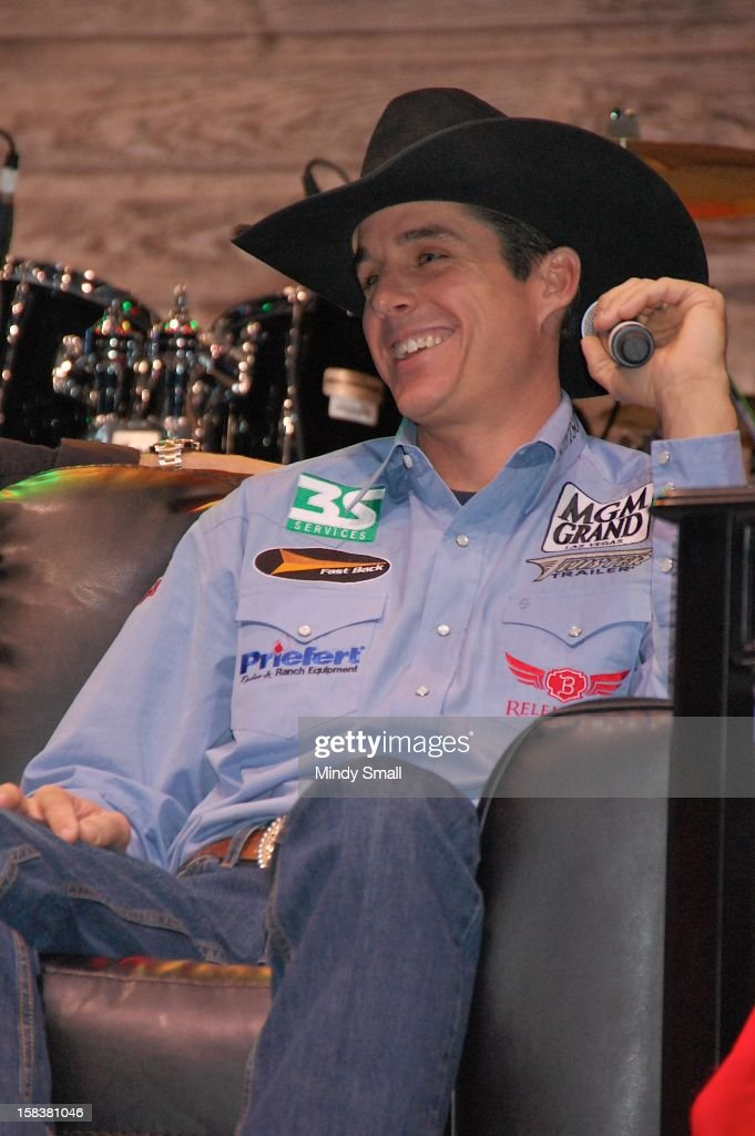 Patrick Smith attends Cowboy FanFest during the Wrangler National Finals Rodeo at the Las Vegas Convention Center on December 14, 2012 in Las Vegas, Nevada.