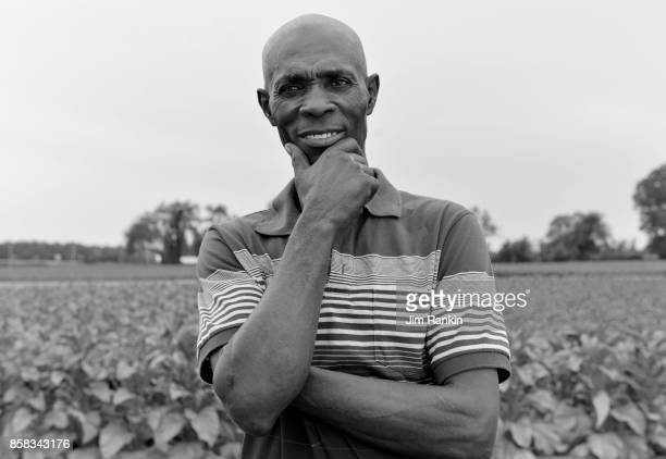 Patrick Stanio of St Lucia has been a seasonal migrant worker in Canada for 37 years He works at a tobacco farm near Simcoe Ont