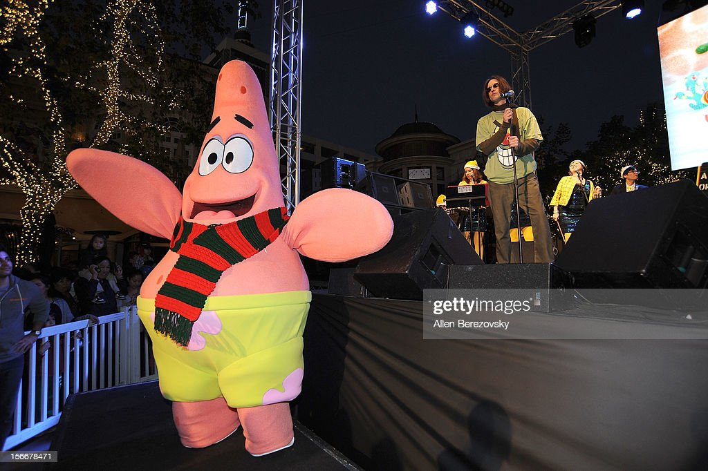 Patrick Star attends the 'Spongebob Holiday Extravapants' very special live concert performance hosted by Nickelodeon at The Grove on November 18, 2012 in Los Angeles, California.