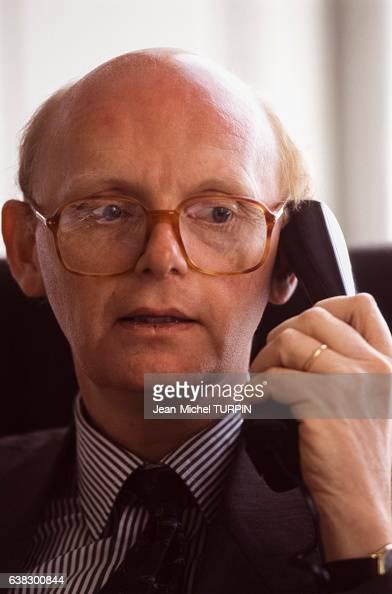 Patrick Stefanini directeur de cabinet du Premier ministre dans son bureau le 19 mai 1995 à Paris France