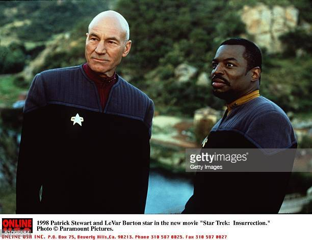 Patrick Stewart And Levar Burton Star In The New Movie 'Star Trek Insurrection'