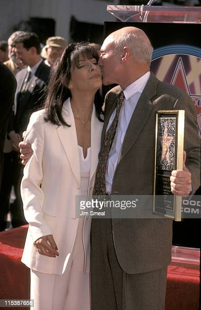 Patrick Stewart and Marina Sirtis during Patrick Stewart Honored with a Star on the Hollywood Walk of Fame at Hollywood Walk of Fame in Hollywood...
