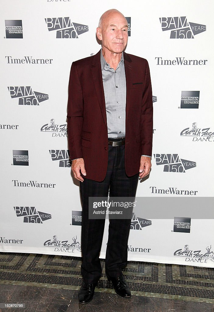 Patrick Stewart attends BAM 30th Next Wave Gala at Skylight One Hanson on September 27, 2012 in New York City.