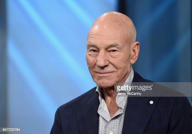 Patrick Stewart attends the Build Series Presents Hugh Jackman And Patrick Stewart Discussing 'Logan' at Build Studio on March 2 2017 in New York City